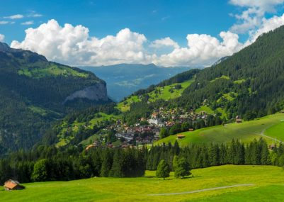 An all inclusive adventure to Wengen, Switzerland. Gorgeous Swiss landscapes with picturesque views.